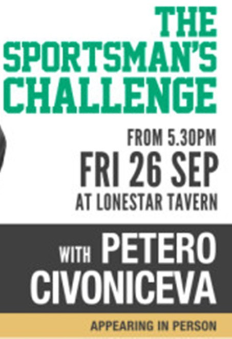 petero Civoniceva, sportsman challenge, lonestar tavern, mater foundation, family fun