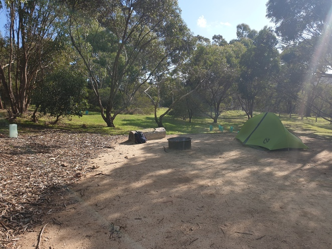 Smaller campsite option