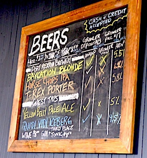 Port Rexton Brewing Co, beers