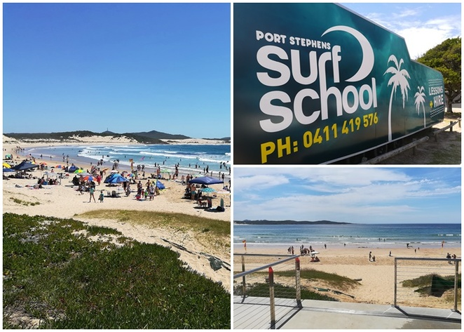 port stephens surf school, NSW, nelson bay, one mile beach, birubu beach, family, kids, surfing lessons, things to do, tourist attractions, port stephens surfing, lessons, classes, beaches, safe,