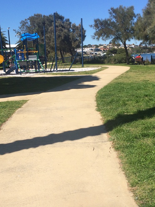 Pram friendly walks South of the East Fremantle