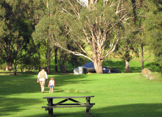 Queen Mary Falls Caravan Park is a great place to relax