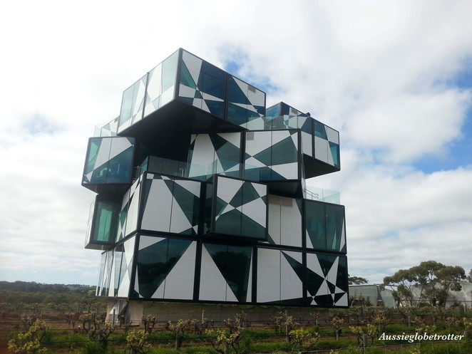Rubix Cube, Winery, McLaren Vale, South Australia, Adelaide, Architecture