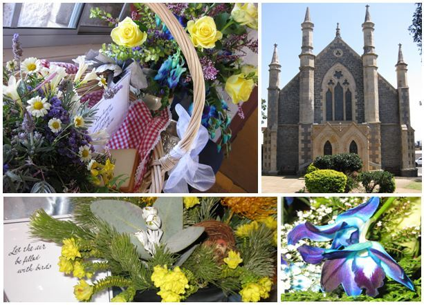 Saint Stephens Uniting Toowoomba Carnival Floral display 2017