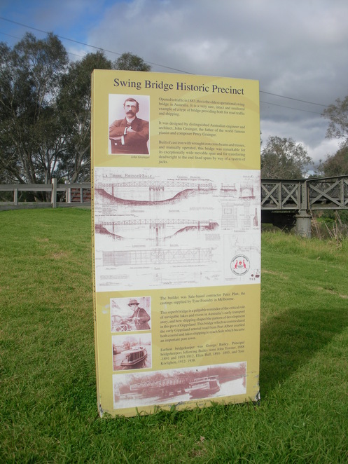 sale swing bridge port water river thomson latrobe engineering billboard history