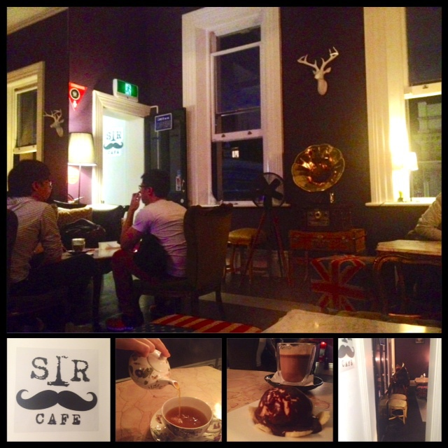 sir cafe dessert chocolate food adelaide rundle street