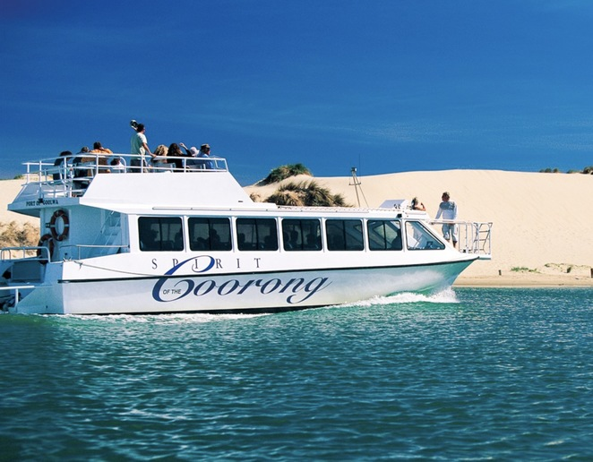 Spirit of the Coorong cruises, boat trip Goolwa, South Australia boat trip, Coorong boat trip