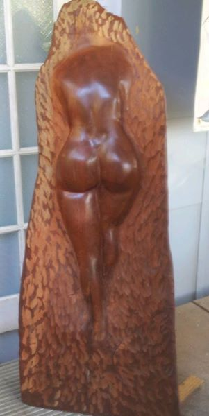 Ted Upton sculpture Macleay Island