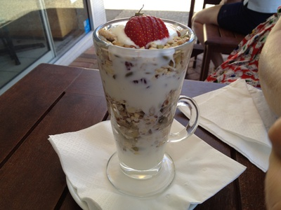 The Apple Soaked Bircher ($14)