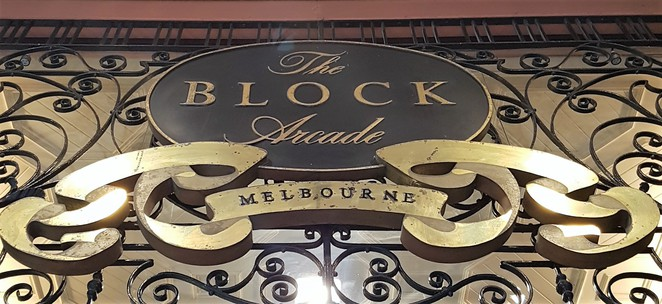 The Block Arcade, Melbourne, walking tour
