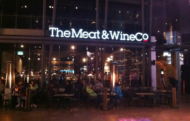 The Meat & Wine Co, Steakhouse
