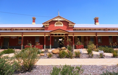 The Old Northam Railway Station Museum.