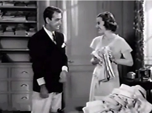 The shirt scene from 1949 adaptation of The Great Gatsby