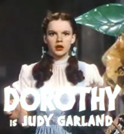 The Wizard of Oz, dorothy, judy garland