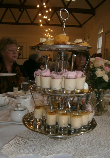 Tiered High Tea Desserts