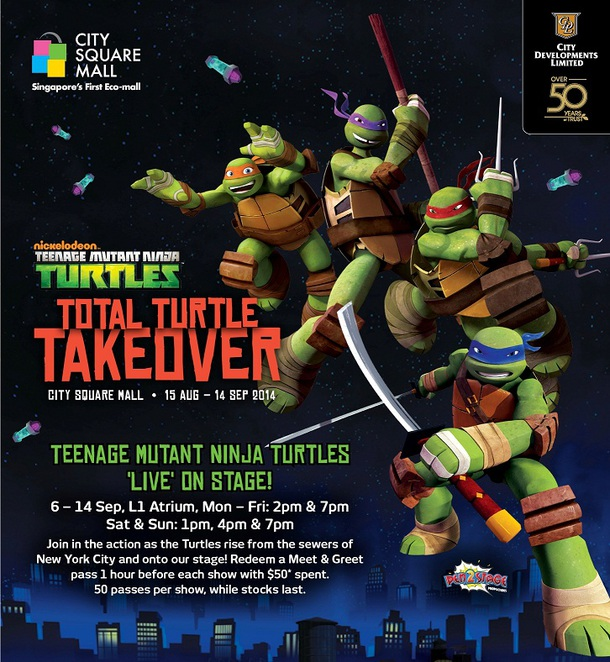 tmnt at city square mall
