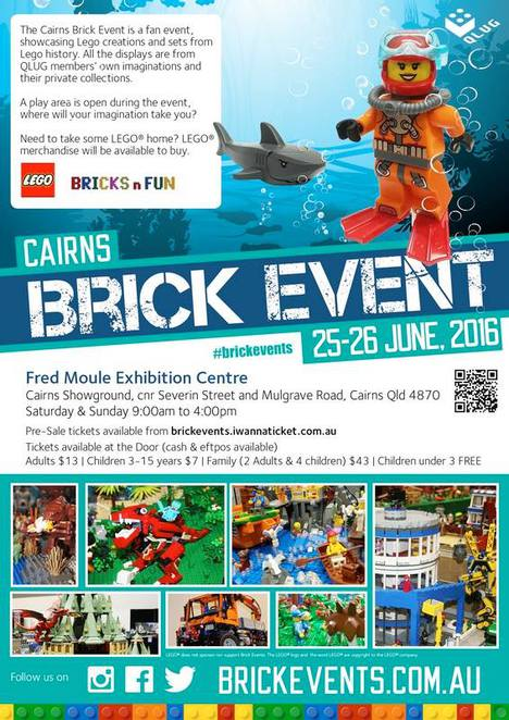 Toys, Kids, Family, Cairns, LEGO®, Exhibitions, Fairs