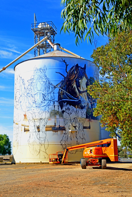 Victoria Melbourne Benalla Yarrawonga Goorambat Devenish St James Tungamah Silo Silos Art Trail Trails Travel Escape The City Get Out Of Town
