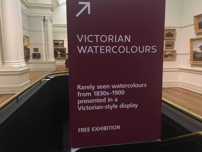 Victorian Watercolours Exhibition