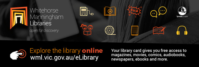 whitehorse manningham libraries, community events, fun things to do, activities, fun for kids, workshops, book talks, entertainment, author talks, story time, creative club, films, cooking demonstrations, gardening, community spirit
