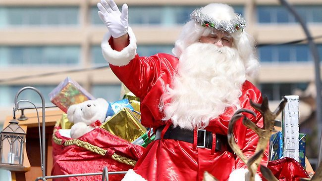 Father Christmas is coming image - adelaidenow.com.au