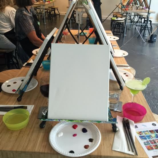 Art and crafts, painting lessons, cocktails, hens night, team building activity, night out with the girls, paint your own masterpiece, novel night out, fun activity,