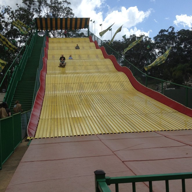 Aussie World, Palmview, Sunshine Coast, Giant Slide