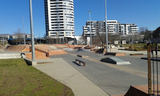 Belconnen Skate park, Canberra, Belconnen, things to do with teenagers, school holidays