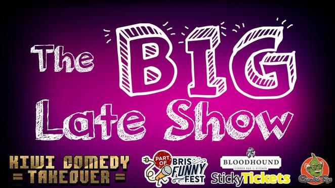 Big Late Show Christchurch Kiwi Takeover Loose Format Show Comedy Comedian Impro Improv Improvisation