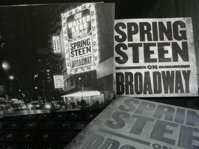 bruce, springsteen, music, on bradway, broadway, live, album