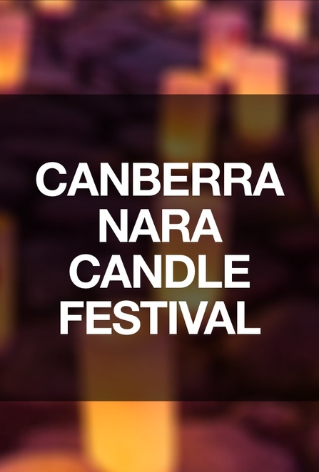 Canberra Nara Candle Festival