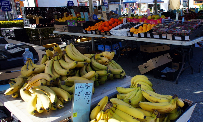 Fresh fruit and vegetables is king at the Chermside Farmers Market