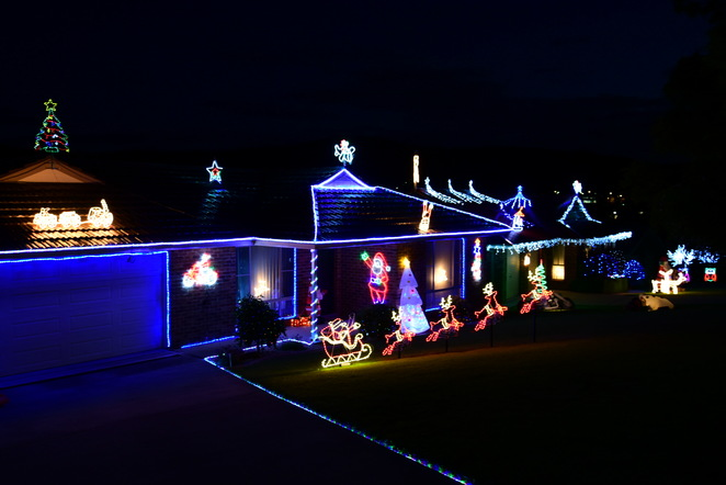 Christmas lights Lithgow, Jade Jackson Photography