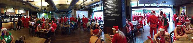 debacle, canberra santa pub crawl, 2015, nightlife, events in december, pubs, bars, events in canberra,