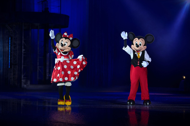 Disney on Ice, Mickey Mouse, Donald Duck, Goofy, Minnie Mouse, Rod Laver Arean, Fun for kids