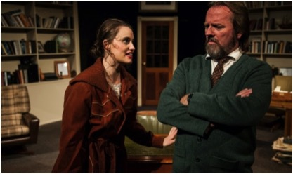 Educating Rita Emily McGowan and David Russell The Depot Theatre