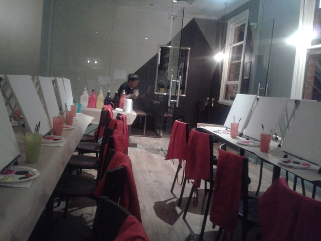 fun, painting, night out