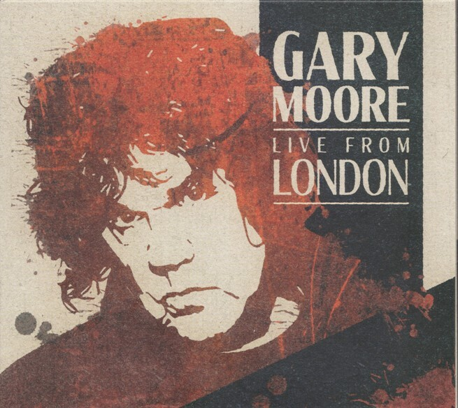 Gary Moore, Live From London, CD, album, music, blues, rock, guitar