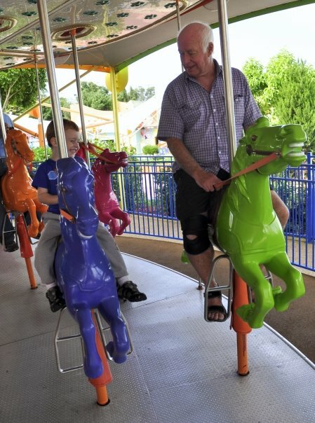 Kids of all ages love holidays at the Gold Coast's theme parks!