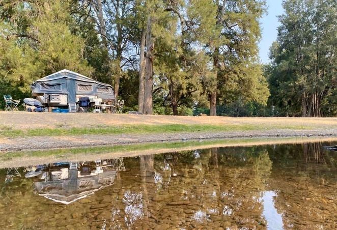 Gorgeous camping along the Goodradigbee River at Wee Jasper Reserves