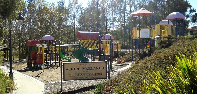 hope marland playground, queanbeyan, best playgrounds in queanbeyan, playgrounds, parks, queanbeyan, NSW, BBQ areas, picnics,