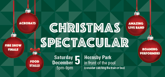 Hornsby Christmas Spectacular / credit: Hornsby Council