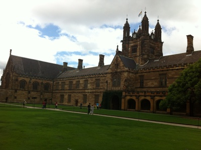 University Art Gallery is located in the Quadrangle, The University of Sydney
