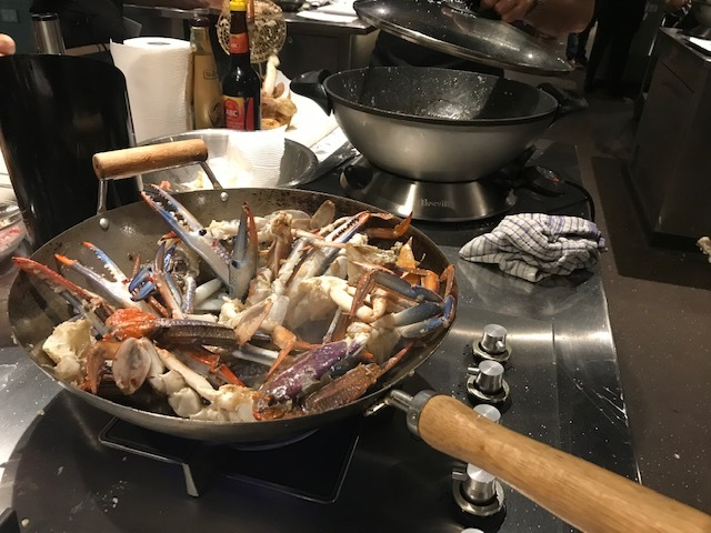 Blue Swimmer Crab Cooking