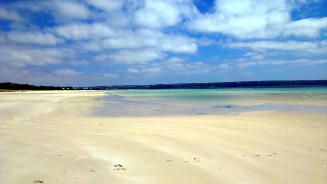 island beach, kangaroo island, south australia, natural attraction