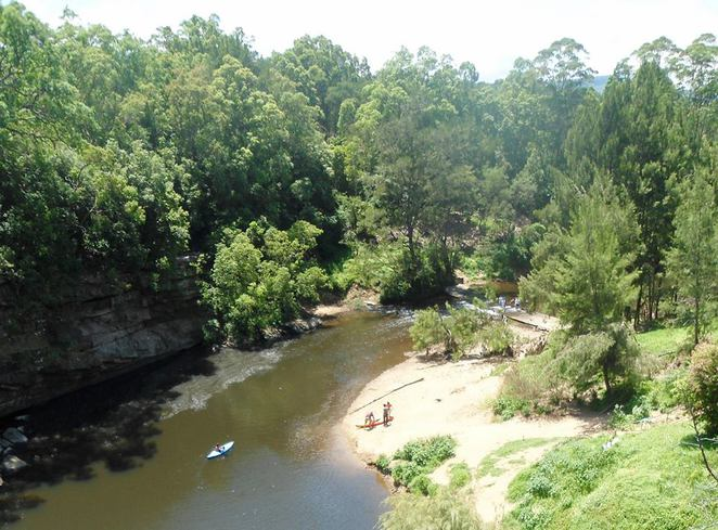 kangaroo valley, river, rapids, kayak