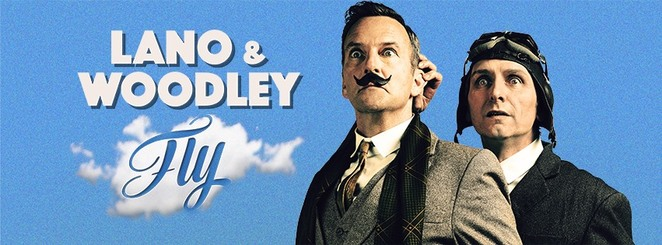 lano & woodley fly, colin lane, frank woodley, community event, fun things to do, comedy show, theatre, entertainment, laugh out loud, night life, date night, brisbane powerhouse, powerhouse theatre, comedy event, stage, performing arts