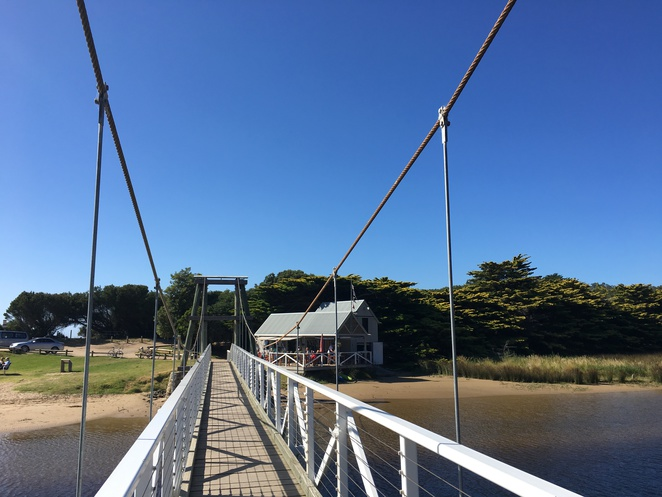 Lorne Swing Bridge Cafe