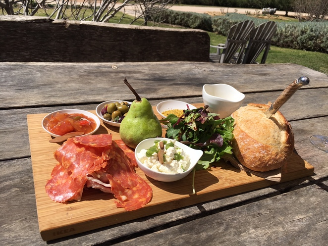 lowe wines mudgee winery platter