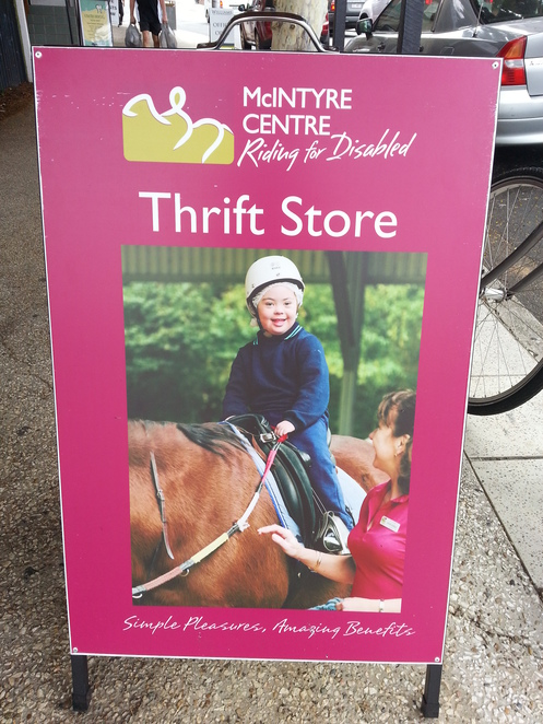 mcintyre centre riding for disabled thrift shop, indooroopilly